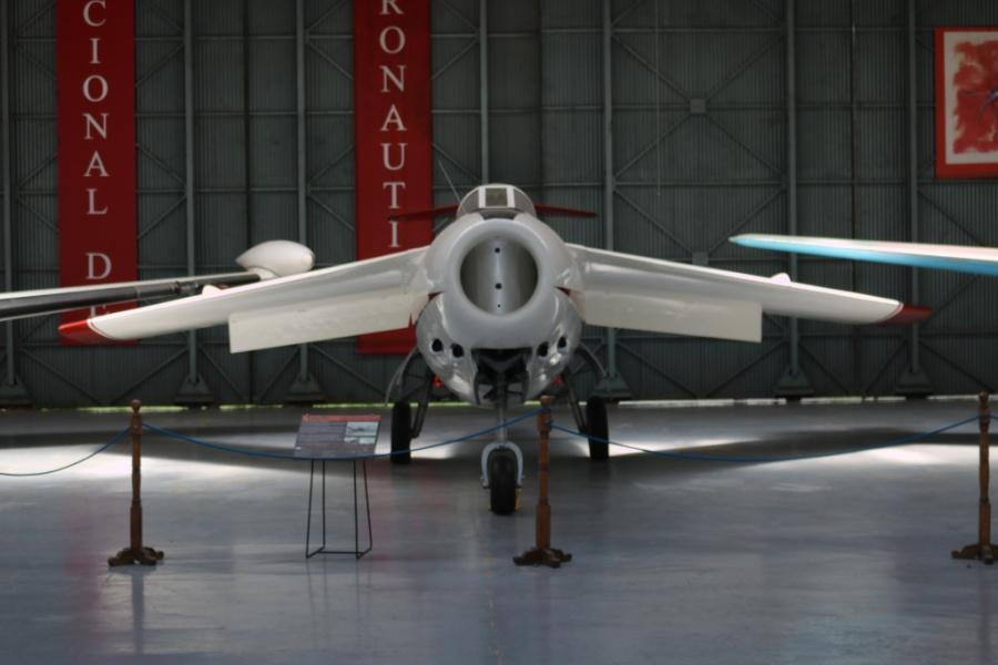 FMA I.Ae 33 Pulqui II (Arrow II) prototype No. 5 - National Aviation Museum of Argentina (Museo Nacional de Aeronáutica de Argentina) at Morón Air Base in Buenos Aires (December 2019).